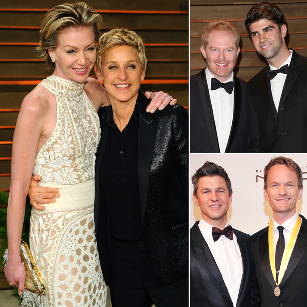 Famous Gay Couples Who Are Engaged or Married | POPSUGAR