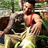 Photos of Shirtless Australian Firefighters Baby Animals