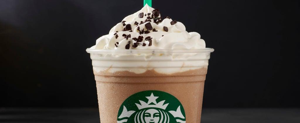 Starbucks Black and White Mocha Drinks 2018