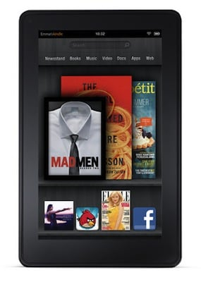 Amazon Kindle Fire Tablet Details