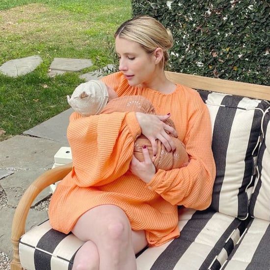 Emma Roberts Shares First Photo With Baby Son Rhodes