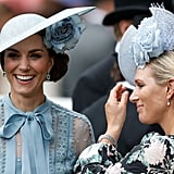 Kate Middleton and Zara Phillips