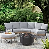 Mainstays Millbrae Grove Steel Outdoor Conversation Fire Set