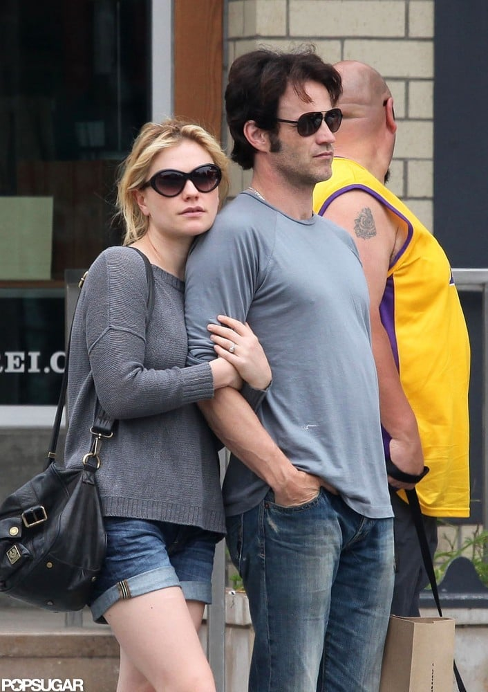 Anna Paquin and Stephen Moyer got cozy in Santa Monica, CA, in May 2010.