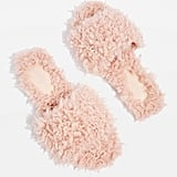 Topshop Hunt Shearling Slippers