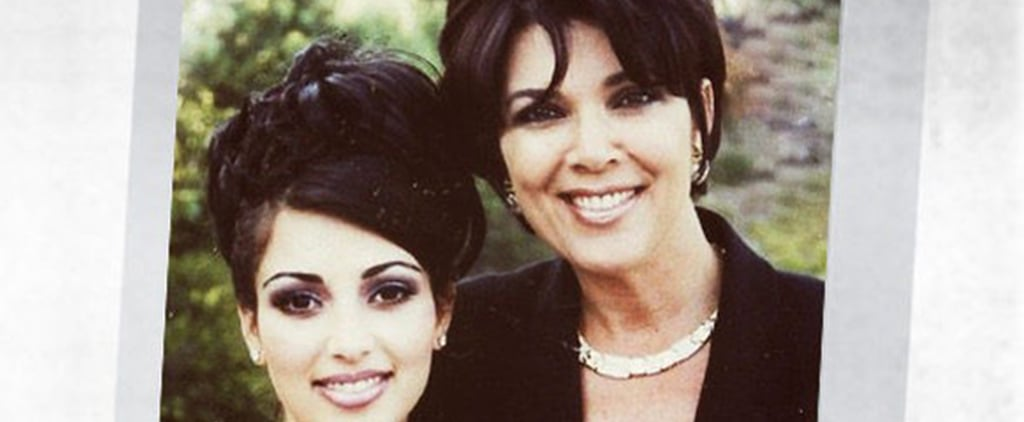 Kim Kardashian Shares Prom Throwback on Instagram