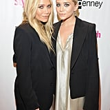 Mary-Kate Olsen and Ashley Olsen helped kick off the Fashion Week festivities.