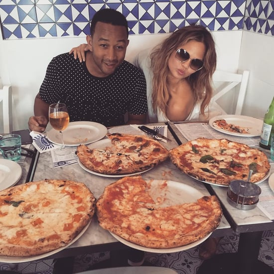 Chrissy Teigen and John Legend Food Photos