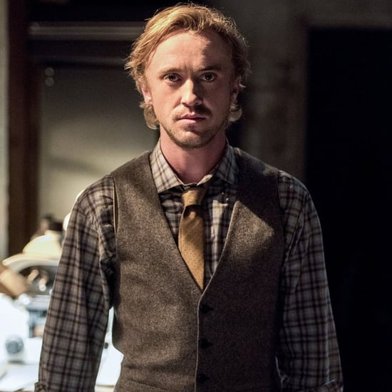 Tom Felton on The Flash Pictures