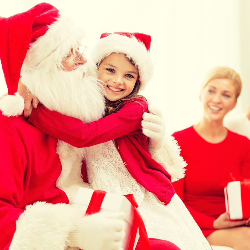 tips to keep kids from finding out about santa popsugar moms - Santa Claus Children