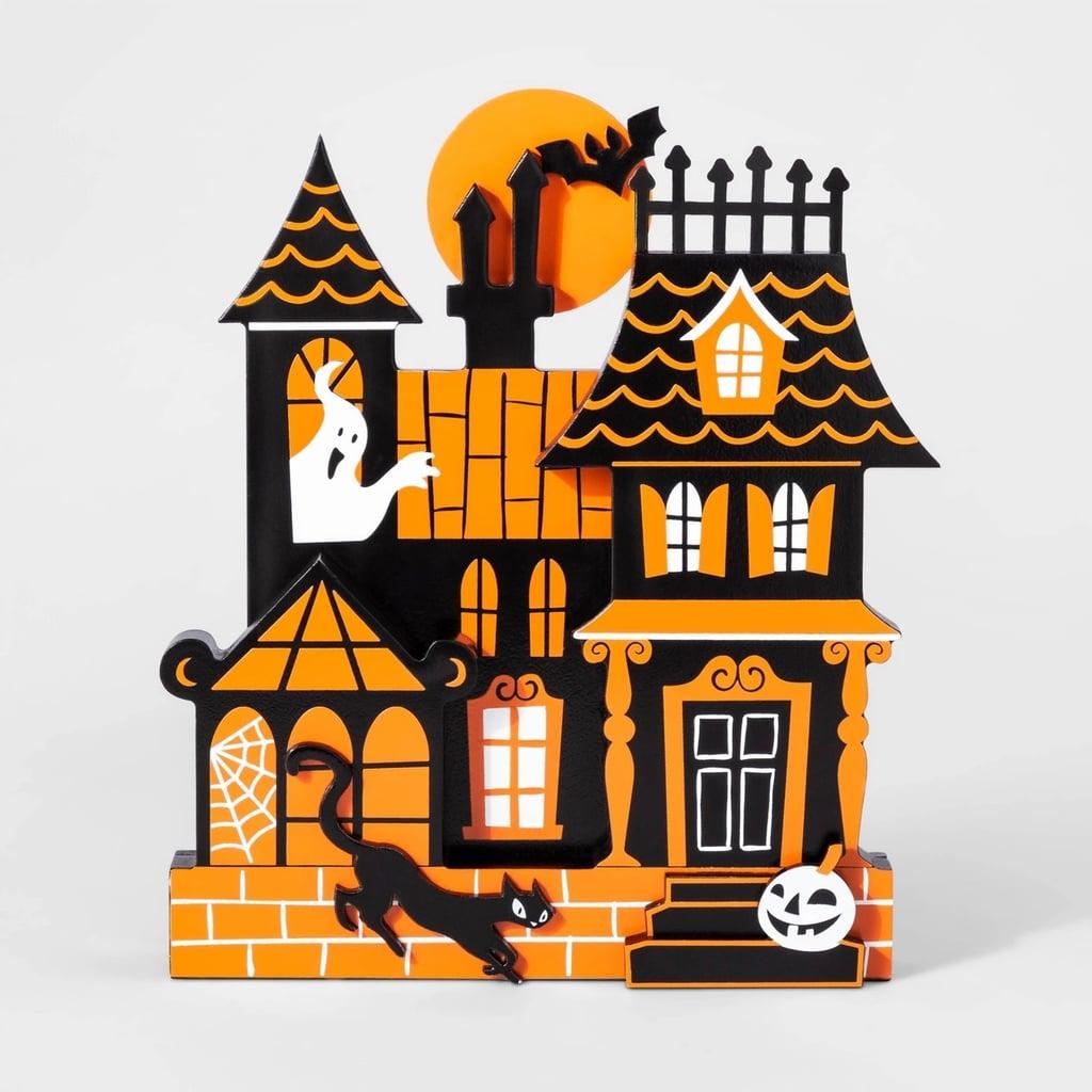 Mini Mantle Haunted House Halloween Decor