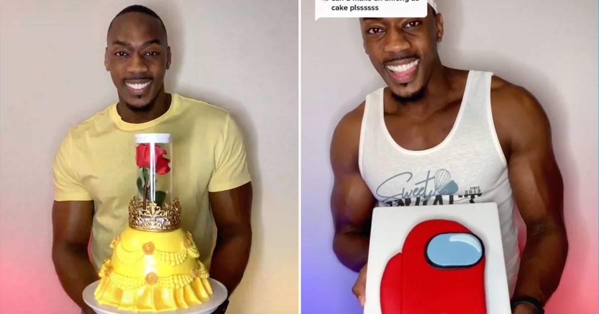 This Self-Taught Baker Makes the Cutest Cakes on TikTok, and We Could Watch Him All Day Long