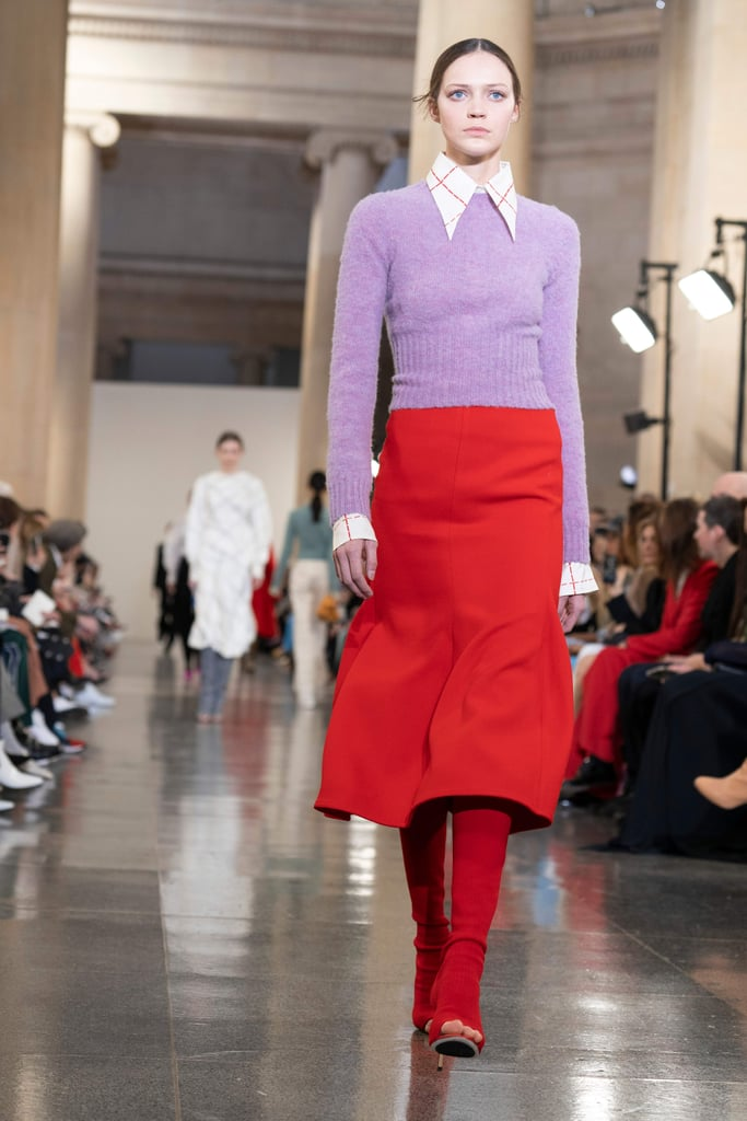 Victoria Beckham's Outfit at Her Fashion Show Fall 2019