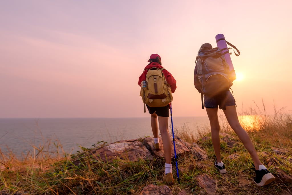 Go on an organized camping trip with strangers.