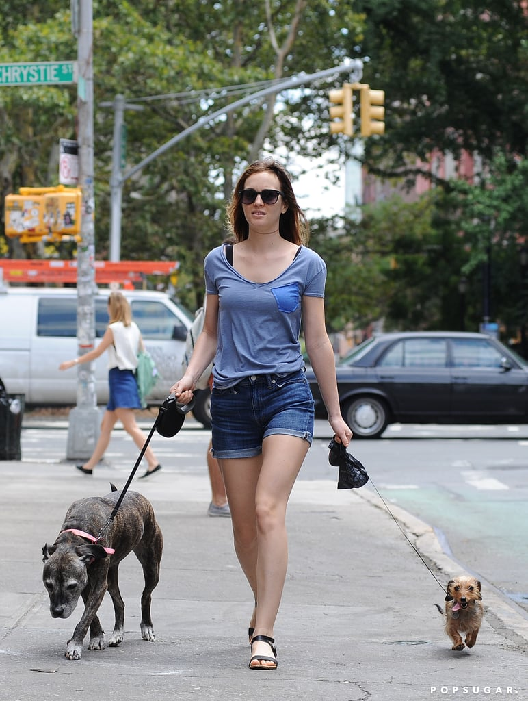 Leighton and Adam Are Even Cuter When They're With Their Dogs