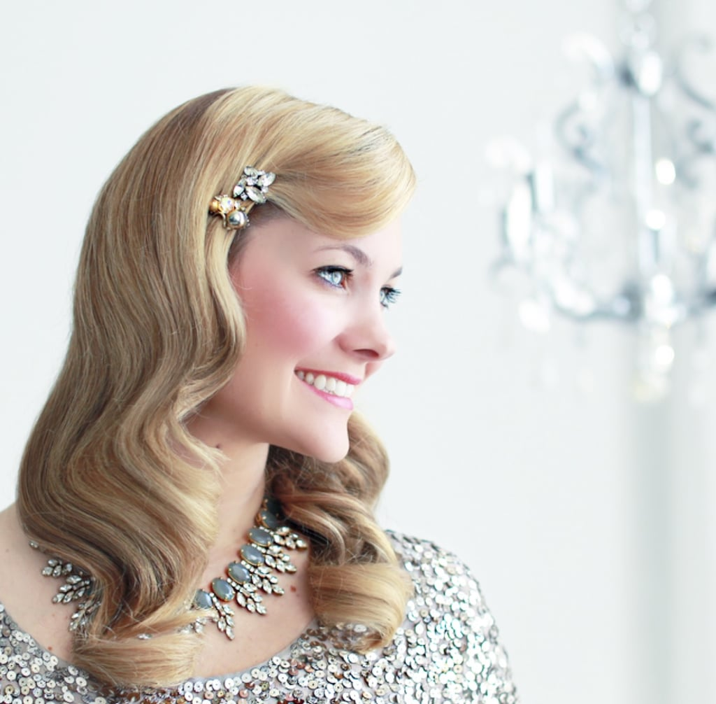 Veronica lake bridal hair tutorial popsugar beauty veronica lake bridal hair tutorial baditri Images