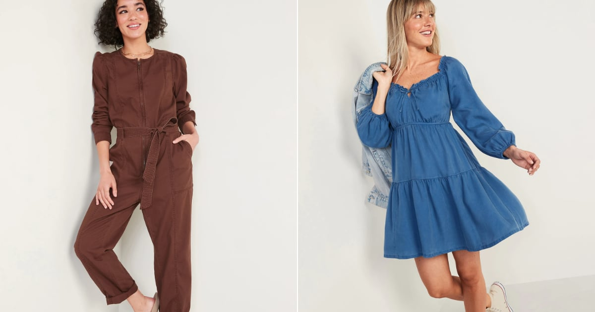 37 Tempting New Pieces We Spotted at Old Navy This Month, Including So Many Pretty Dresses.jpg
