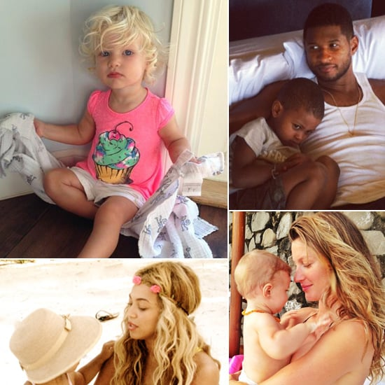 Candid Celebrity Baby Pictures