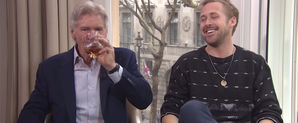 Ryan Gosling and Harrison Ford Drink Their Way Through This Off-the-Rails Interview