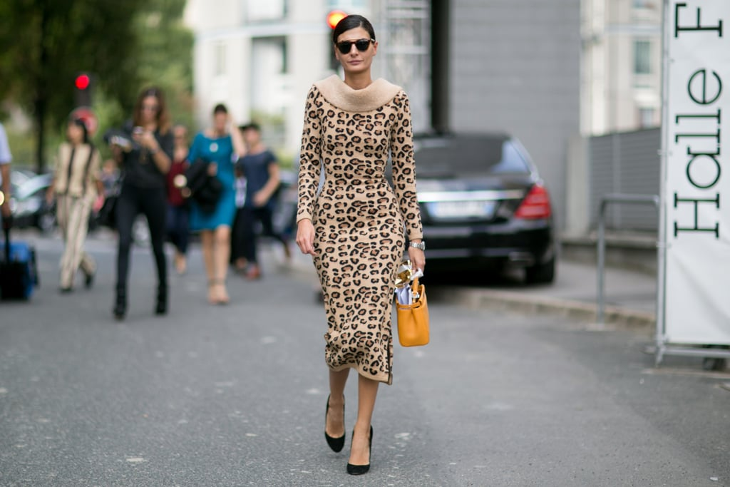 Giovanna Battaglia pulled off one wild look.