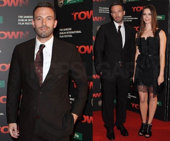 Pictures of Ben Affleck at the Dublin Premiere of The Town