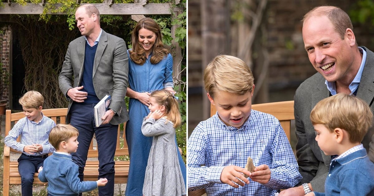 On Prince William and Kate Middleton's Kids' Special Outing, George Scored a Dinosaur Tooth