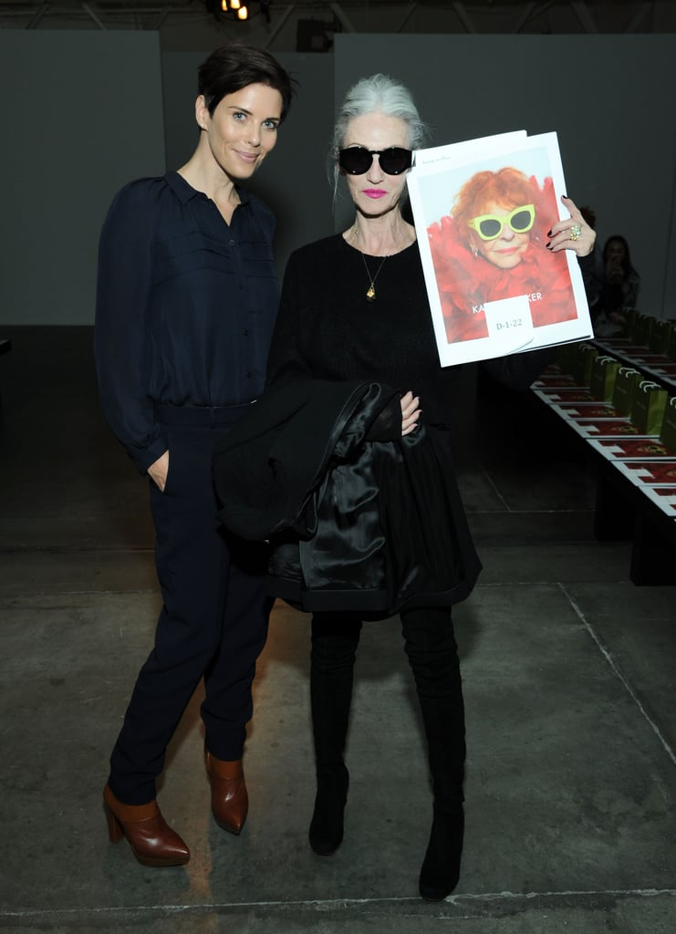 Karen Walker and Linda Rodin