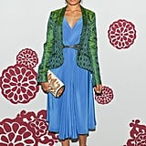 Freida Pinto wore Maiyet at a Maiyet party in New York. Source: Neil Rasmus/BFAnyc.com