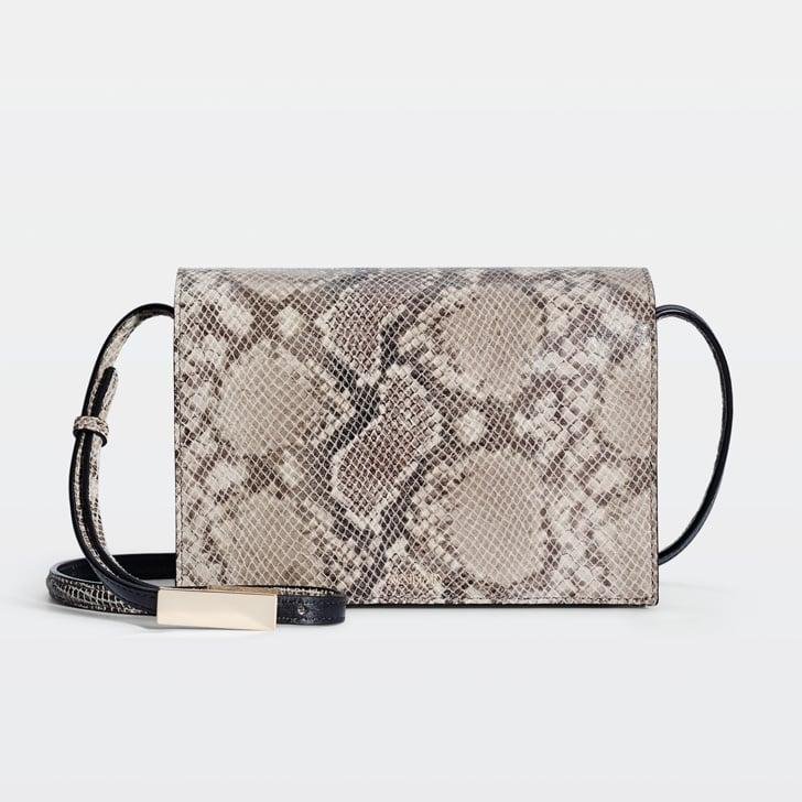 Aritzia Snakeskin Crossbody Bag ($275)