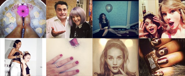 Celebrity Beauty Instagrams   Jan. 3, 2014