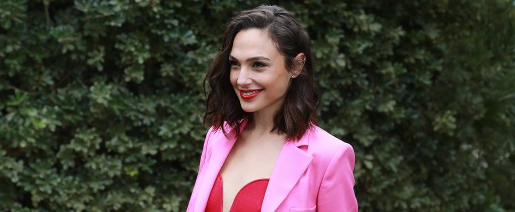 Gal Gadot Oscar de la Renta Pink Suit