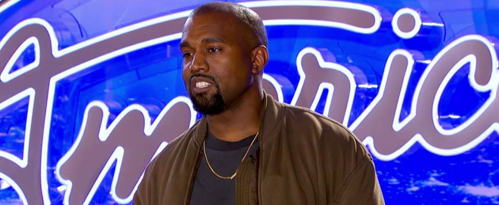 Even Kanye West Looks Super Awkward Auditioning For American Idol
