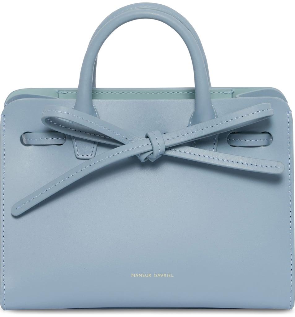 Mansur Gavrieli Mini Sun Leather Bag
