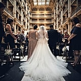 Brooklyn and Kenneth held their wedding at the beautiful George Peabody Library in the historic Mt. Vernon neighborhood of Baltimore. See the wedding here!