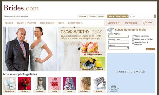 Fab Site: Oscar de la Renta Guest Blogs on Brides.com