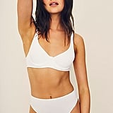 Free People Eco Rib Hi Cut Brief Undies