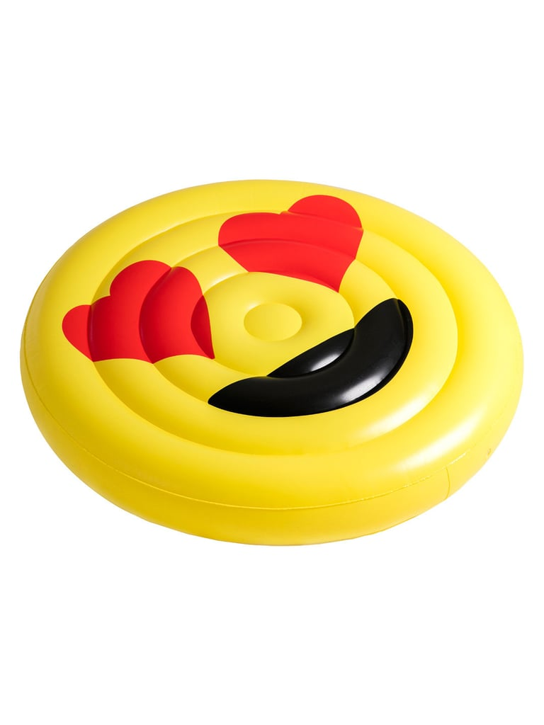 Heart Eyes Emoji Pool Float