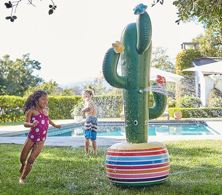 Inflatable Rainbow Sprinkler Popsugar Moms