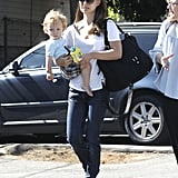 Natalie Portman sported sunglasses in LA.