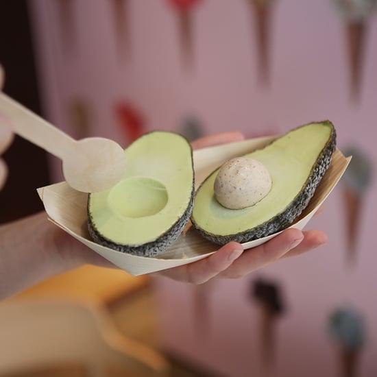 Selfridges Avocado Ice Cream