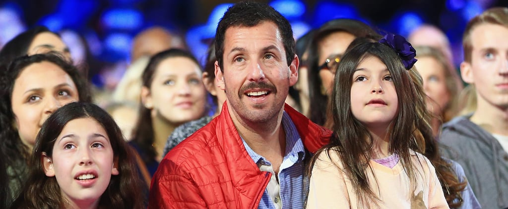 Adam Sandler and Daughters at Kids' Choice Awards 2016