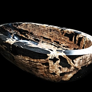 Petrified Wood Bathtub Selling For $2million in Dubai