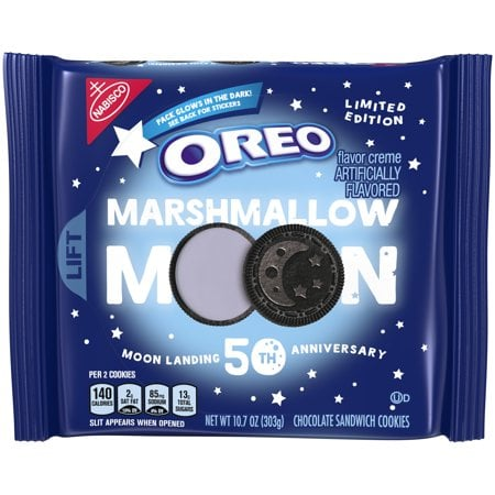 Oreo Marshmallow Moon Cookies