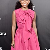 Logan Browning at the 2020 Women in Film Female Oscar Nominees Party