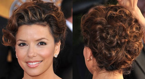 How To Do Eva Longoria's Hair at the 2009 Screen Actors Guild Awards