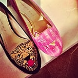 Charlotte Olympia took a walk on the wild side.