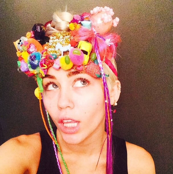 """Miley on Her Art: """"Money Can Buy You a Bunch of Sh*t to Glue to a Bunch of Other Sh*t"""""""