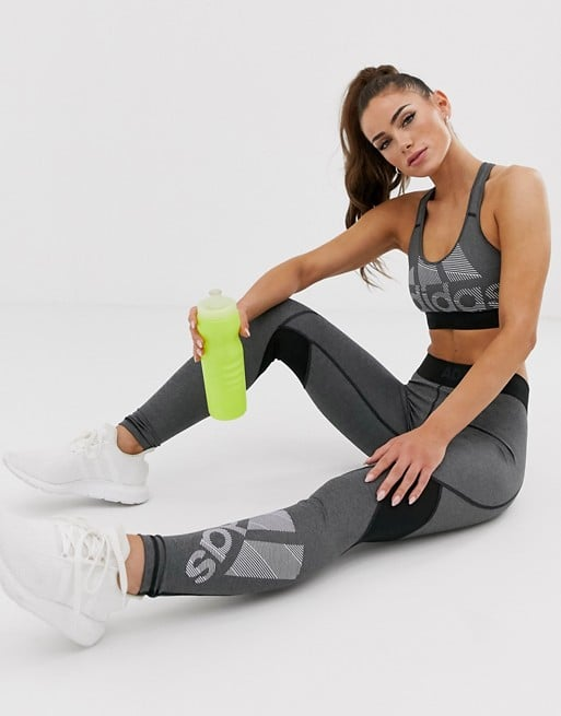 Adidas Training Logo Bra and Leggings
