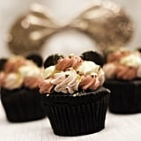 Rose Gold Chocolate Cupcake