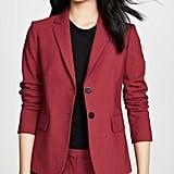 Shop Jen's Exact Red Blazer